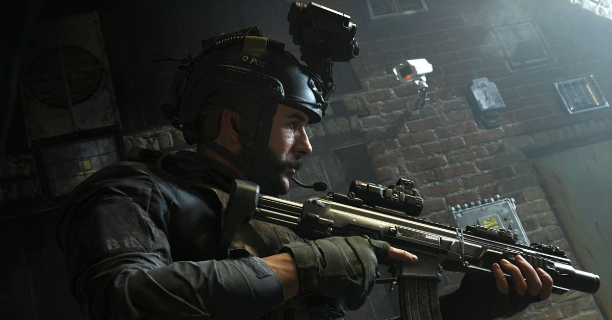 Modern Warfare's latest patch adds a crossbow