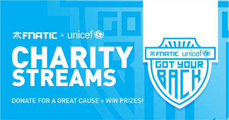Fnatic announces charitable partnership with UNICEF