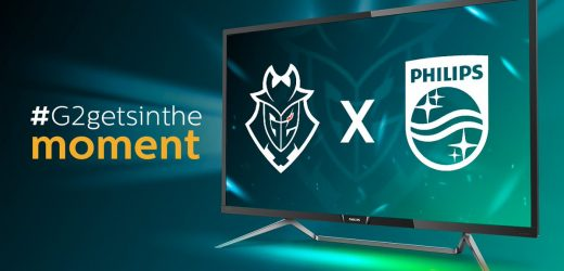 G2 Esports welcomes partnership with Philips Monitors