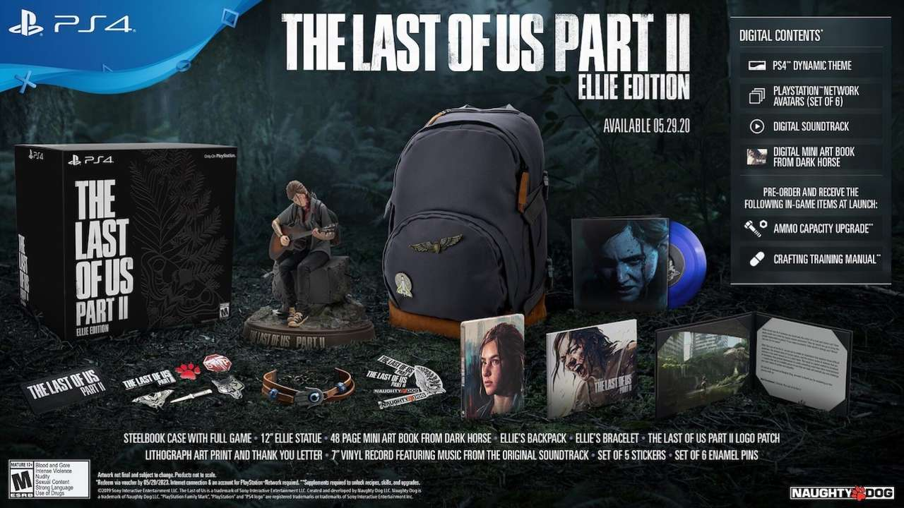 Where To Pre-Order The Last Of Us Part 2 Ellie Edition