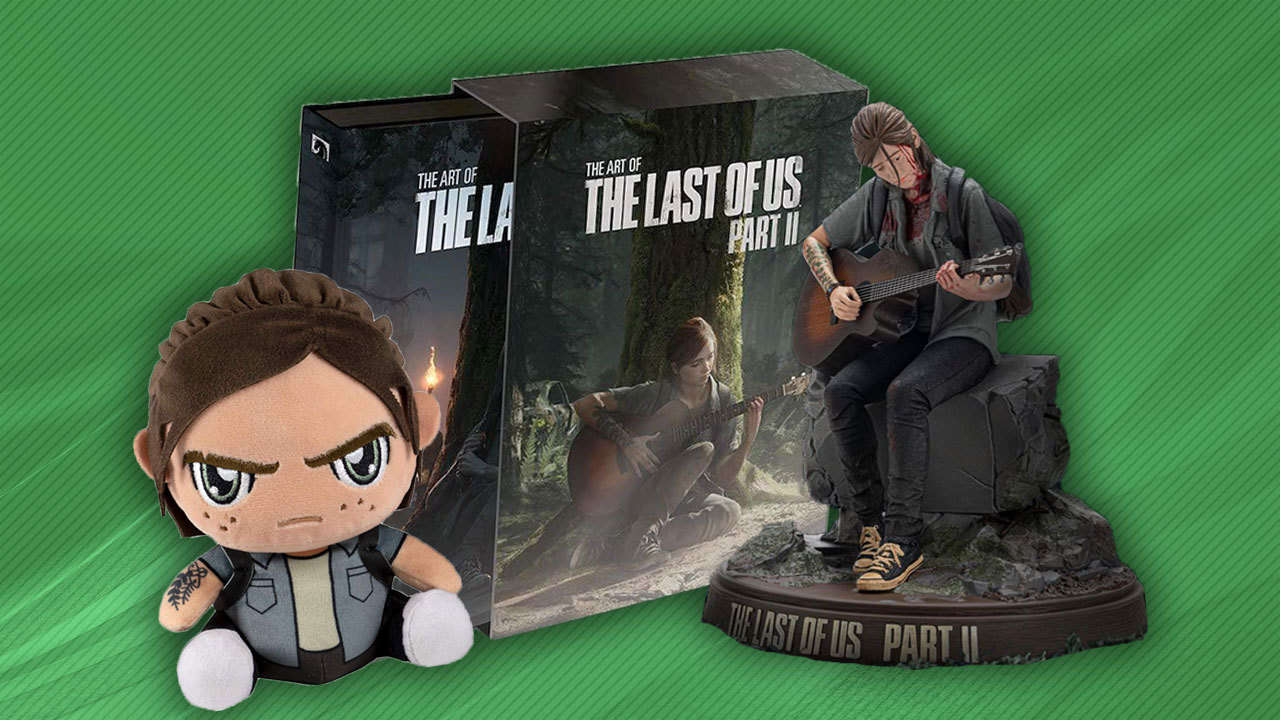The Last Of Us 2: Collector's Edition, Ellie Statue, T-Shirts, And More Great Merch