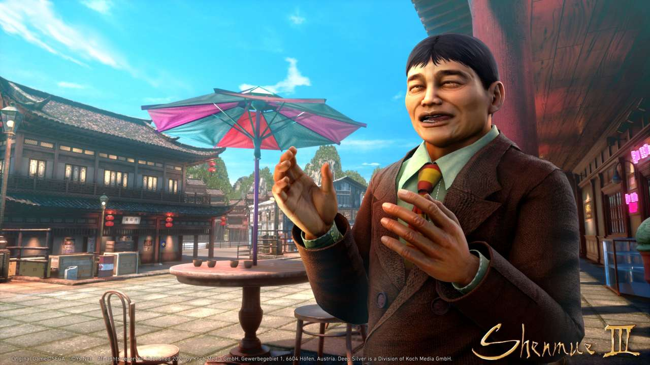 Shenmue 3 DLC Pack Features A Familiar Face