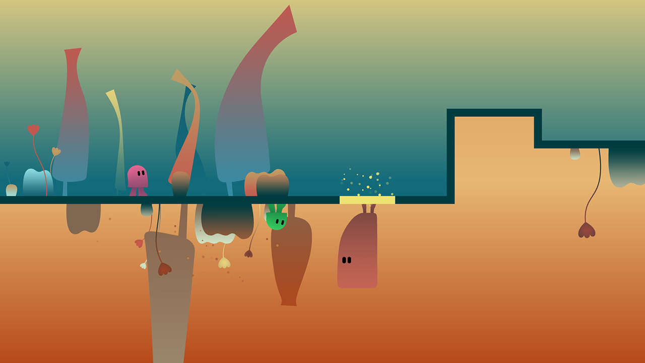 Charming Co-Op Puzzle Platformer Ibb & Obb Is Coming To Switch