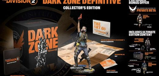 The Division 2's Dark Zone Collector's Edition Is Just $10 Right Now