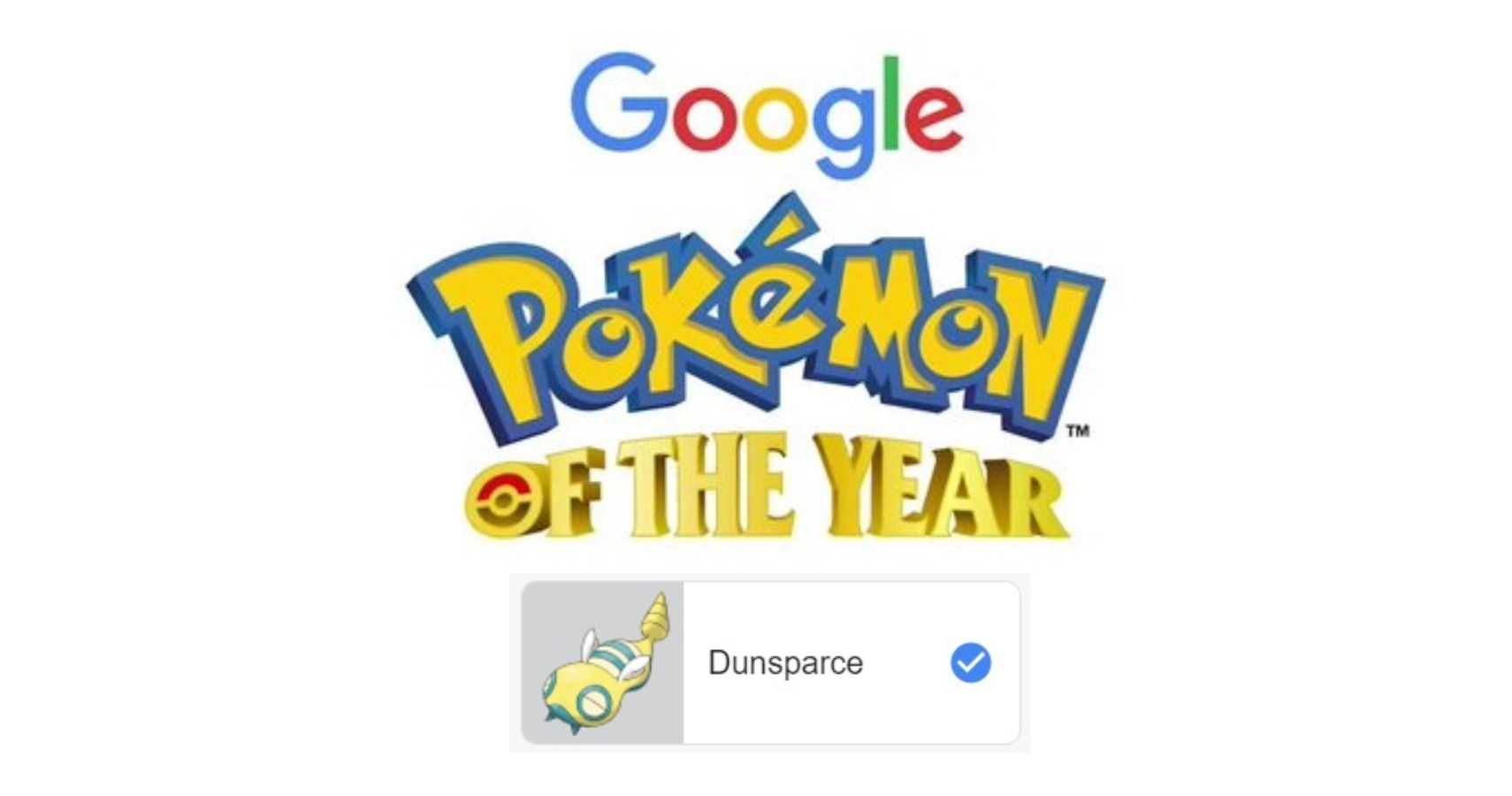 "Google Has Opened Up Votes For ""Pokémon Of The Year"" For Pokémon Day"