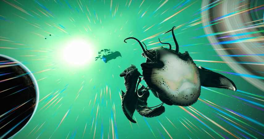 Latest No Man's Sky Update Adds Living Ships With Organic Tech