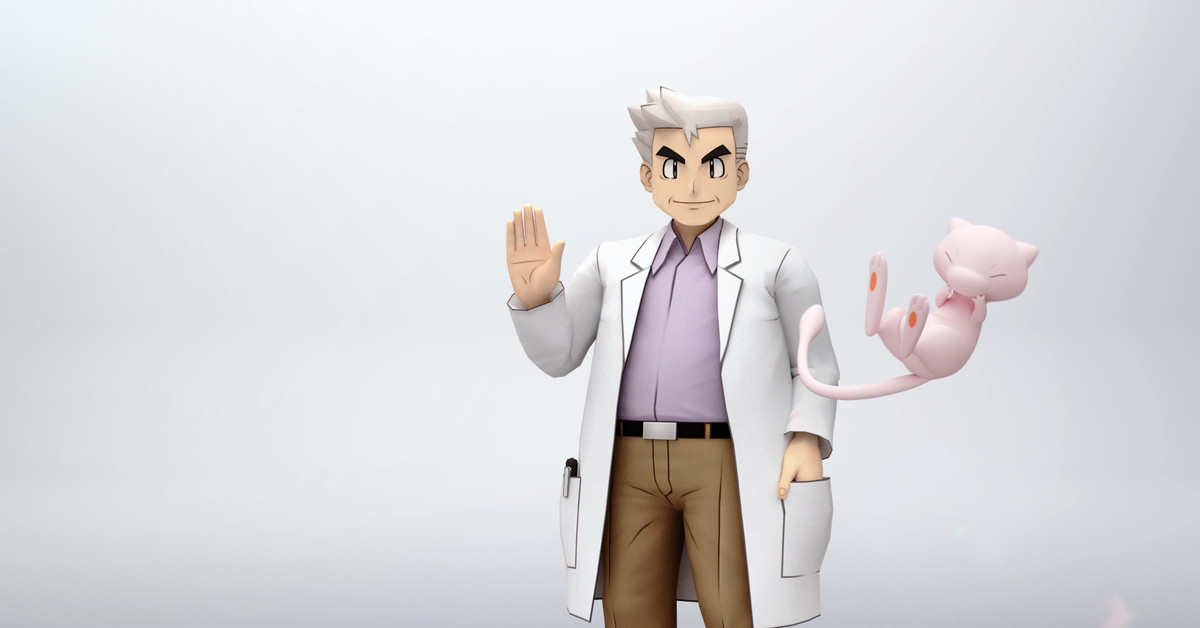 A Pokémon game will finally let Professor Oak go into battle for the first time