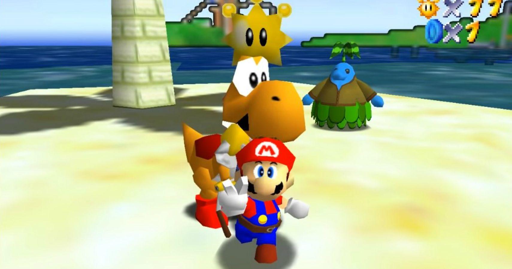 Modder Manages To Recreate Super Mario Sunshine In Super Mario 64