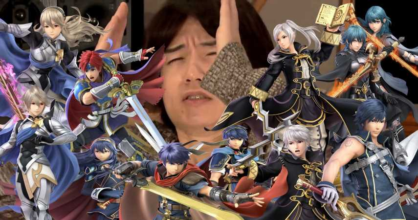 Sakurai Admits There Are Too Many Fire Emblem Characters In Smash Ultimate, But It's Out Of His Control