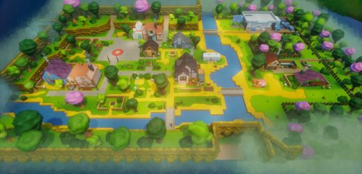 This Dreams remake of the Stardew Valley town is beautiful