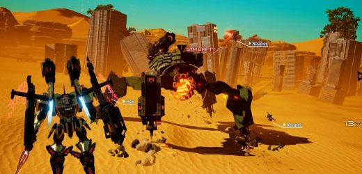 Switch mech game Daemon X Machina coming to Steam