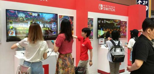 Play Nintendo Switch At The Airport, Get Free Stuff At New Pop-Ups