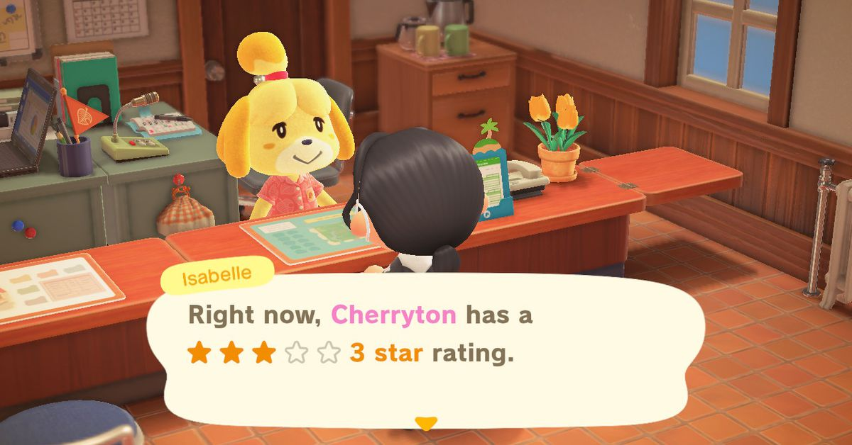 Animal Crossing: New Horizons guide: How to get a 3 star town rating for K.K. Slider