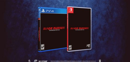 Blade Runner: Enhanced Edition Physical Editions For PS4 And Switch Announced