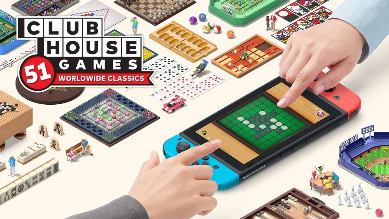 Nintendo Switch Is Getting 51 Classic Board, Card, And Tabletop Games In One Package