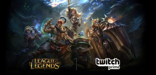 League of Legends is giving away free skins with Twitch Prime