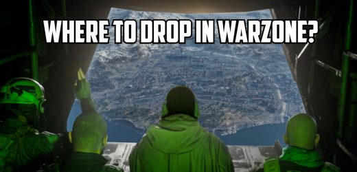 Where are the best places to drop in Call of Duty: Warzone?