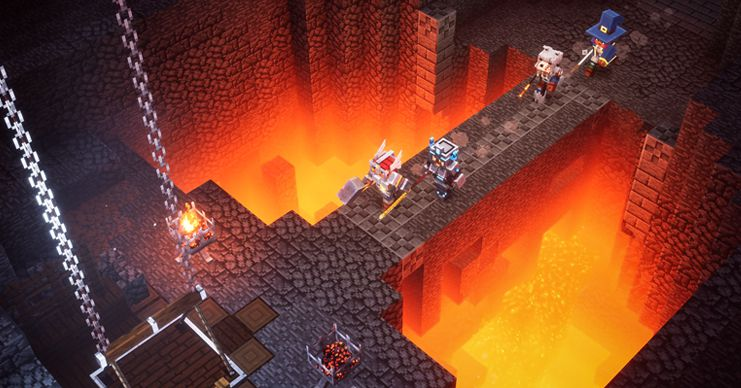 Minecraft Dungeons delayed, arriving on PC and consoles this May