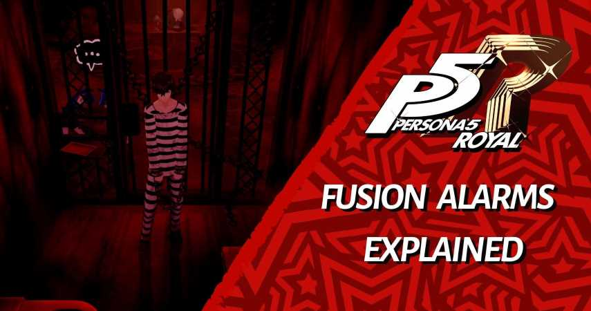 Persona 5 Royal: Velvet Room Fusion Alarms Explained