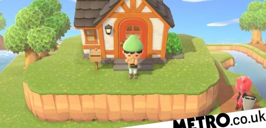 Zelda: A Link To The Past map recreated in Animal Crossing: New Horizons