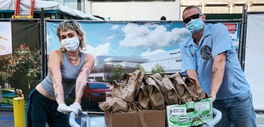 See How Miley Cyrus and Cody Simpson Showed Appreciation to Healthcare Workers