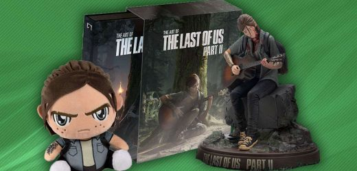 The Last Of Us Part 2 Merch: Ellie Statue, Shirts, Art Book, And More