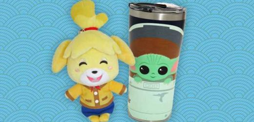 Save Big On Great Animal Crossing And Baby Yoda Merch
