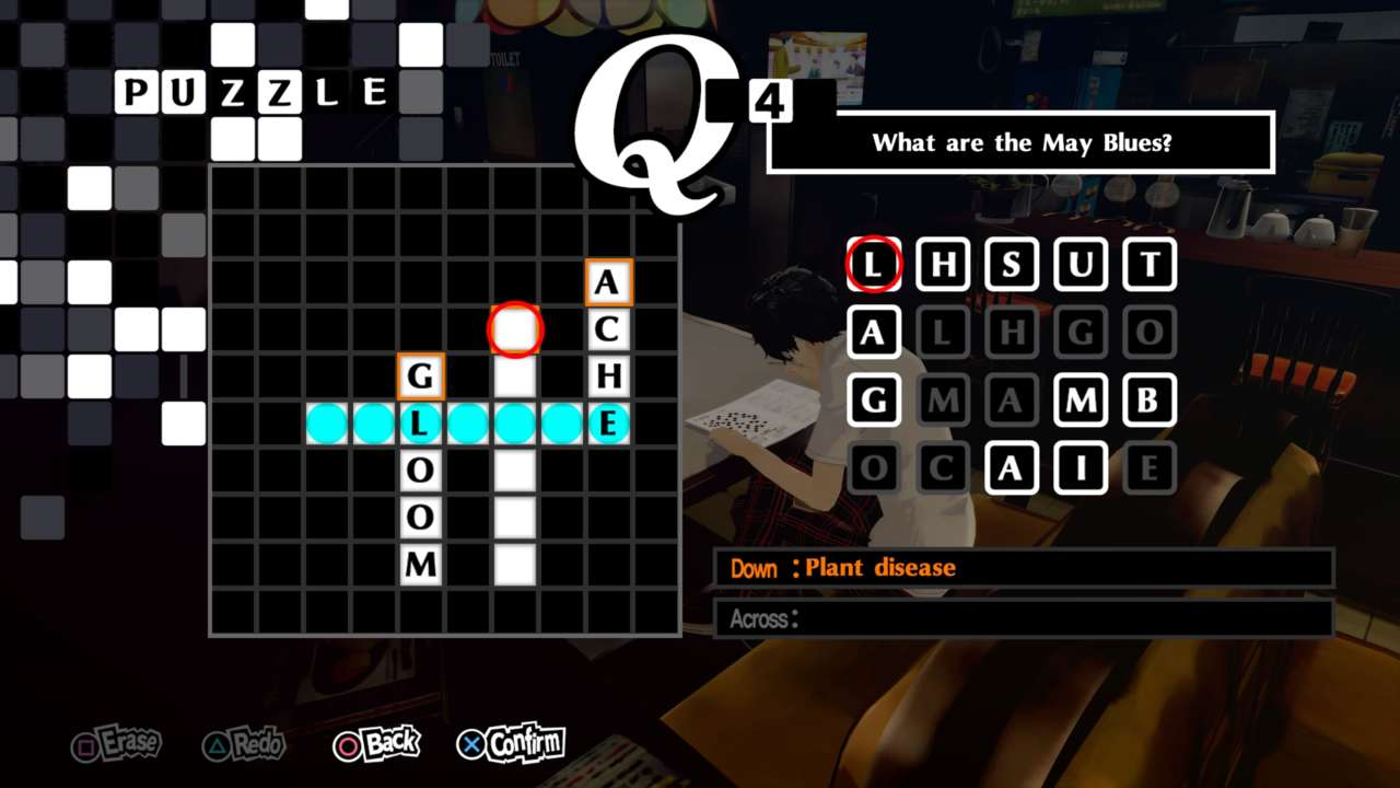 Persona 5 Royal–All 35 Crossword Puzzle Solutions