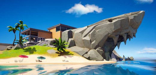 Fortnite: The Shark, Rapid's Rest, Gorgeous Gorge Locations Guide