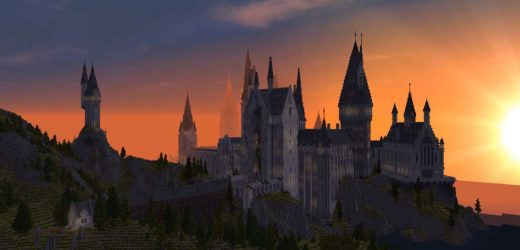 Minecraft–This Incredible Harry Potter RPG Map Is Free To Download