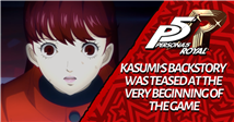 Persona 5 Royal: Kasumi's Backstory Was Teased At the Very Beginning of the Game