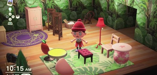 Making a better Animal Crossing house with real interior design