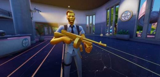 Search Midas' Golden Llama between a junk yard, gas station and an RV campsite – Fortnite Challenge