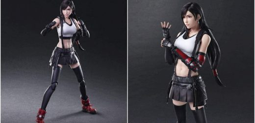 Play Art's FFVII Remake Tifa Figures Is Available For Pre-Order (At A Discount)