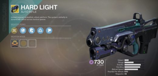 Destiny 2: Hard Light Is Finally Getting Nerfed