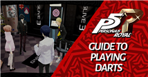Persona 5 Royal: Guide To Playing Darts