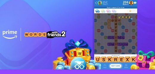 Zynga partners with Amazon to offer Prime discounts in Words With Friends