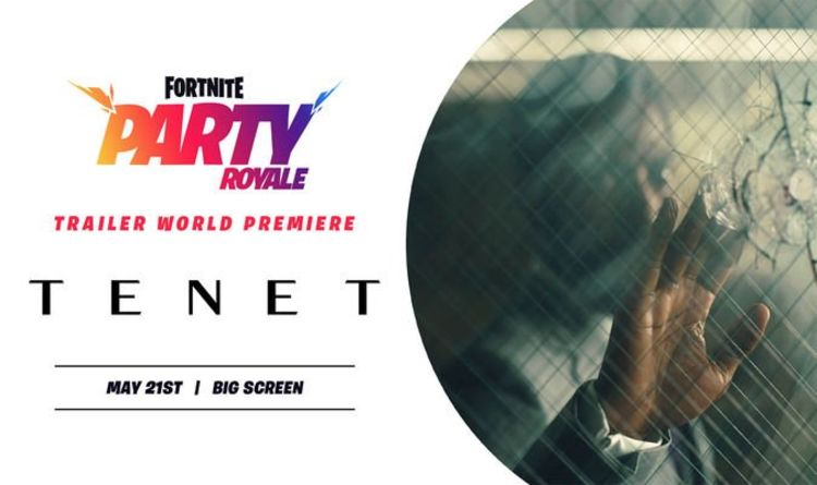 Fortnite Party Royale event time: Tenet Trailer coming to Party Royale today