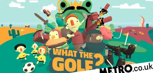 What The Golf Nintendo Switch review – the anti-golf sim