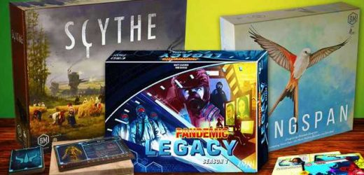 The Best Board Games You Can Play Right Now