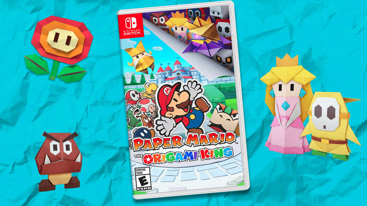Paper Mario: The Origami King Pre-Orders Live For Switch: Release Date, Price, And More