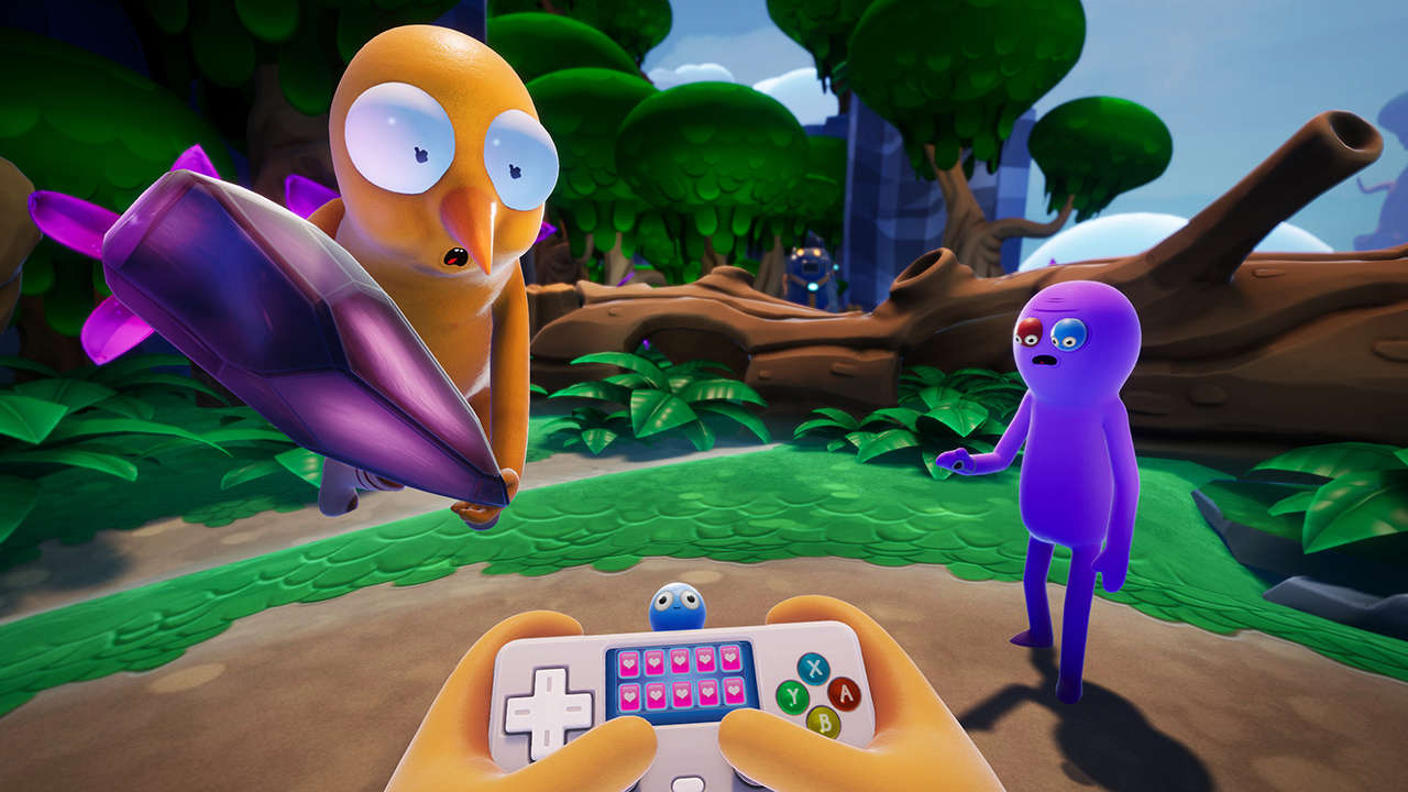 Rick And Morty Creator's Trover Saves The Universe Is Discounted For Anniversary (Switch, PC)