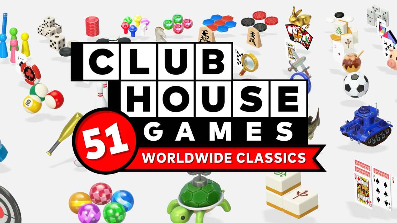 The New Clubhouse Games: 51 Worldwide Classics Trailer Explains Every Game In Upcoming Switch Exclusive