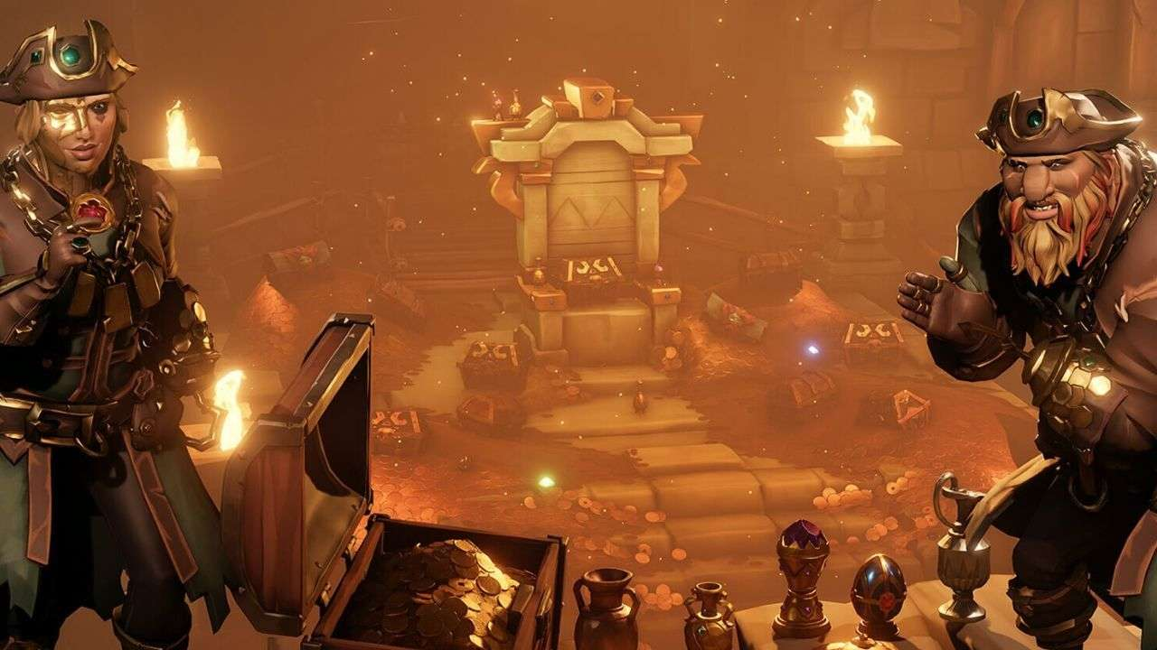 Sea of Thieves Lost Treasures Update Is Live
