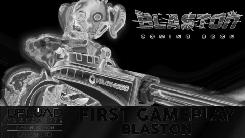 See The First Gameplay of Blaston At The Upload VR Showcase