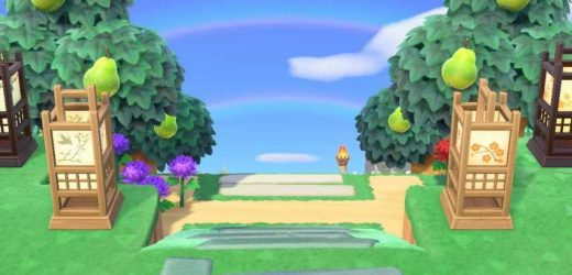 Animal Crossing: New Horizons Player Discovers Double Rainbow After Storm