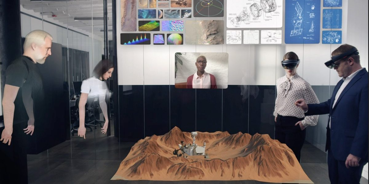 Holographic VR meetings just became real, whether you're ready or not