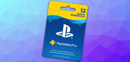 Buy A Year Of PlayStation Plus For $31
