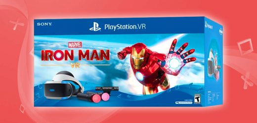 The Iron Man PSVR Bundle Comes With Everything You Need To Play