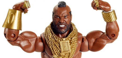 A-Team Icon Mr. T Gets WWE Elite Collection Action Figure For Comic-Con At Home